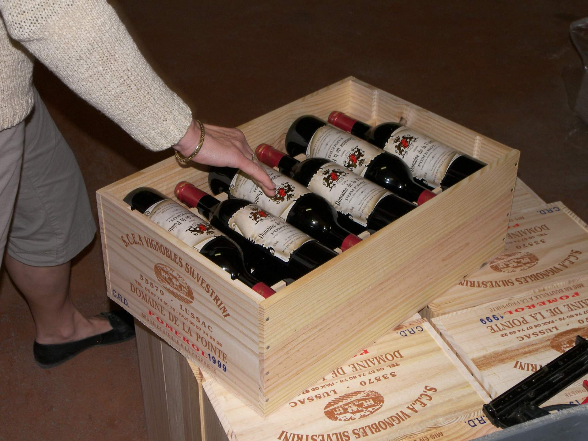 Nos vendanges des vignobles à Montagne