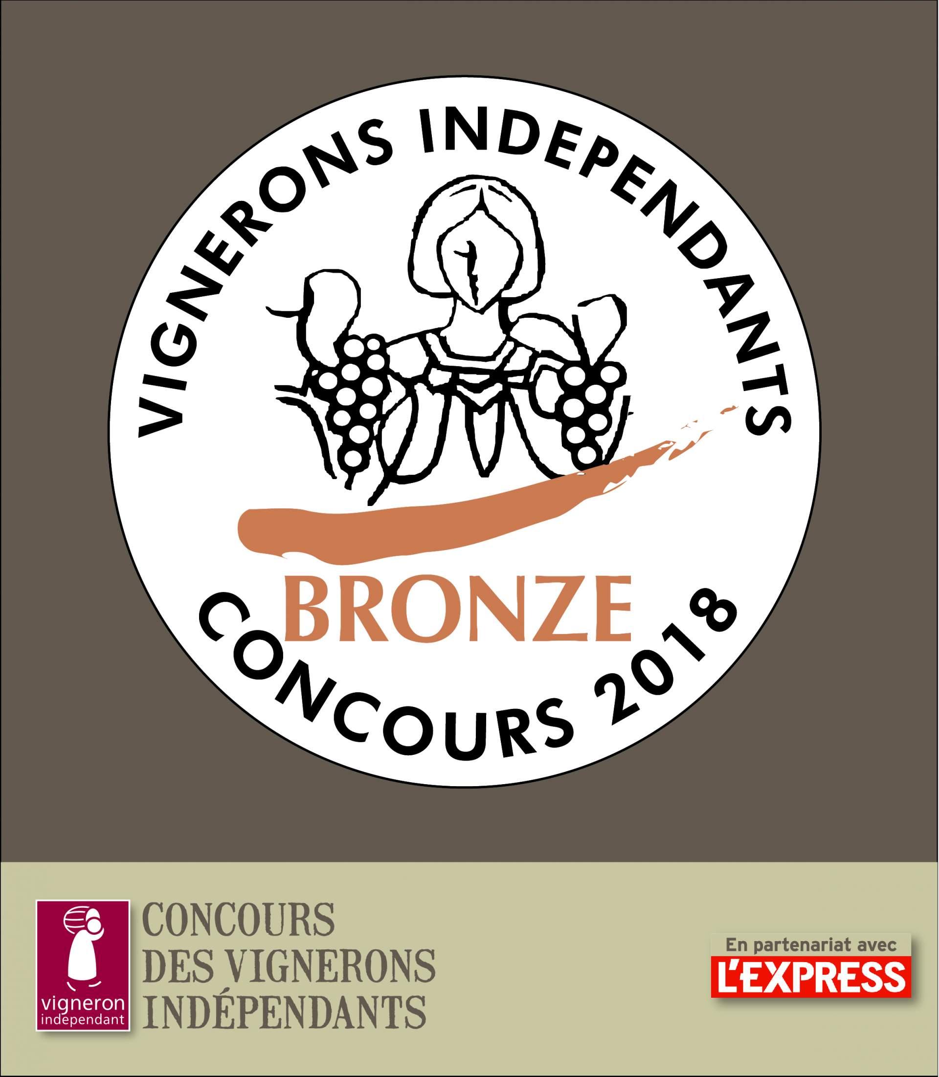 Médaille de Bronze Château Chéreau 2015